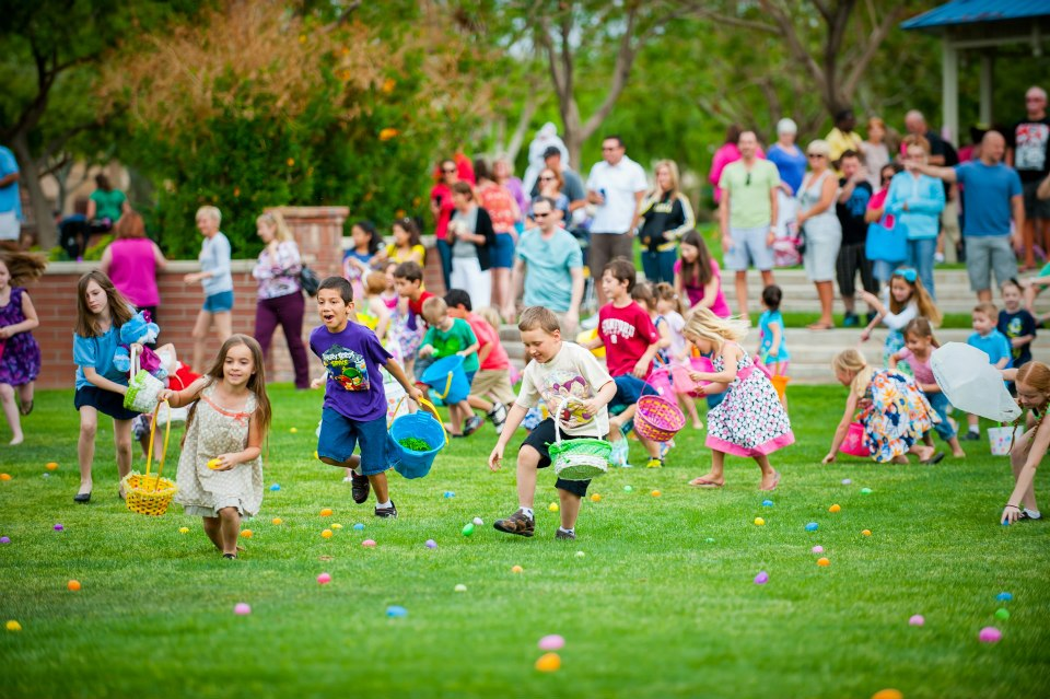 Easter Egg Hunt at Marley Park
