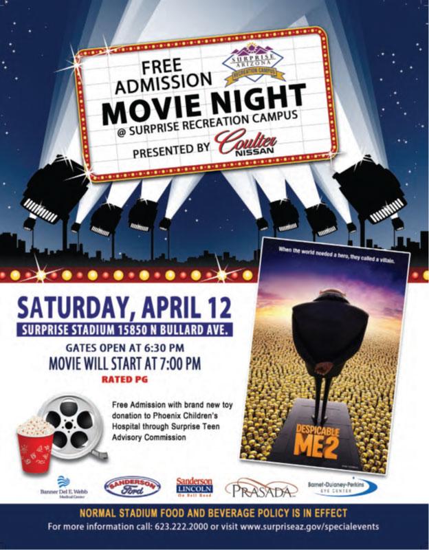 Movie Night at the Stadium